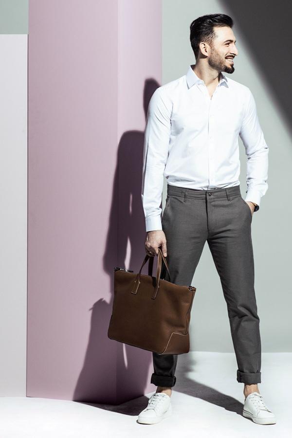 Spodnie męskie - wiosna 2021